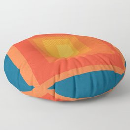 Homage to the Square Floor Pillow
