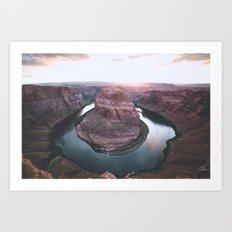 Canyon of dreams #landscape Art Print