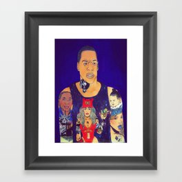 King Carter Framed Art Print