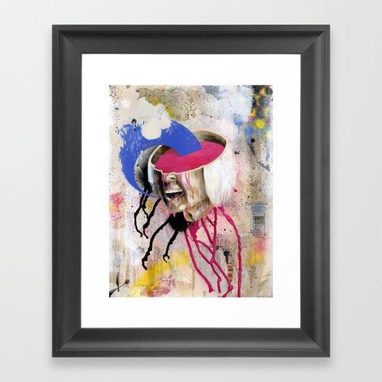 Soup Framed Art Print