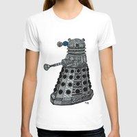 dalek T-shirts featuring Dalek by Rebecca Bear