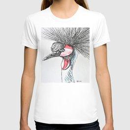 African Crane T-shirt