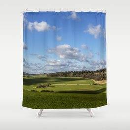 Views of Wiltshire. Shower Curtain