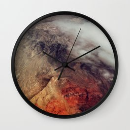Arizona Mountains Wall Clock