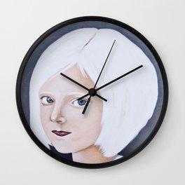 Juliane Snow - LIttle Miss Winter Wall Clock