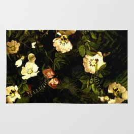 Floral Night III Rug