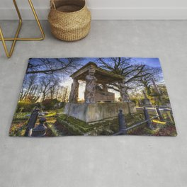 Kensal Green Cemetery London Rug