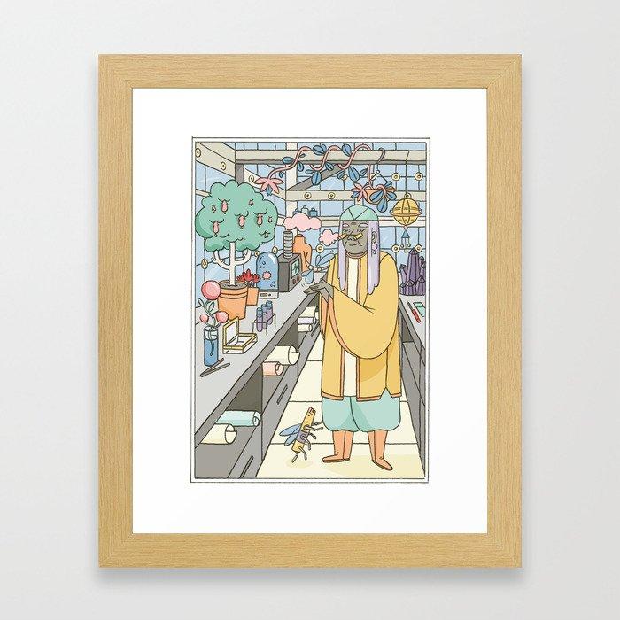 The Garden of the Gods Framed Art Print