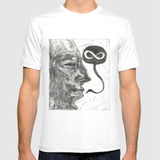 Infinity Mens Fitted Tee White MEDIUM