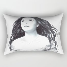 Snow White Rectangular Pillow