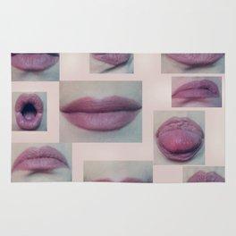 Read my Lips Rug