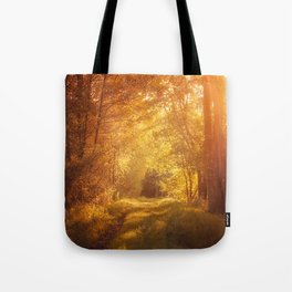 magical enchanted forest Tote Bag