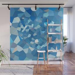 Aqua Heart Wall Mural