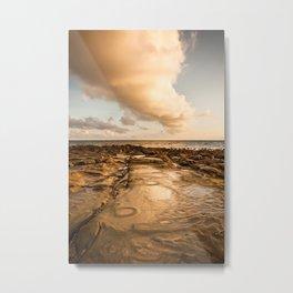 Rocky beach at tip of Borneo Metal Print