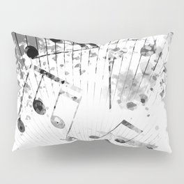 Musical Atmosphere Pillow Sham
