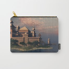 Beautiful Fantasy Town Carry-All Pouch
