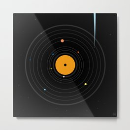 TheSoundOfSpace/ Metal Print
