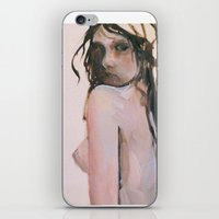 fear iPhone & iPod Skins featuring Fear by scott french studio