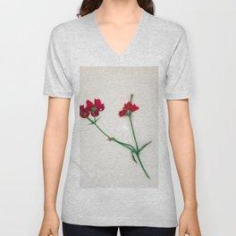 disgarded flowers Unisex V-Neck