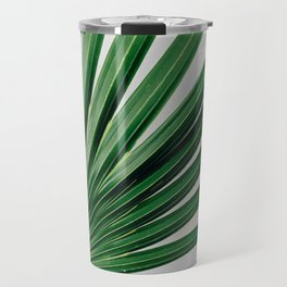 Palm Leaf Detail Travel Mug