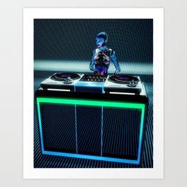 Play That Beat Art Print