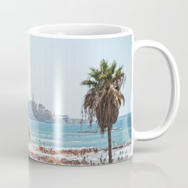View of Old Jaffa from Gordon Beach, Tel Aviv, Israel Coffee Mug