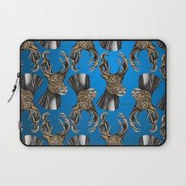 Reindeer (Caribou) Pattern Laptop Sleeve