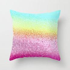 UNICORN GLITTER Throw Pillow