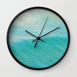 Beach photograph. Hermosa Beach. Lull Wall Clock