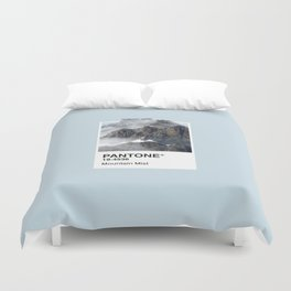 Pantone Series – Mountain Mist Duvet Cover