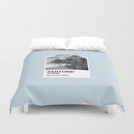 Pantone Series – Mountain Mist Duvet Cover