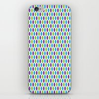 monsters inc iPhone & iPod Skins featuring Monsters, Inc. Polka Dots by Jennifer Agu