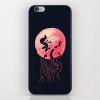 kraken iPhone & iPod Skins featuring Kraken by Freeminds