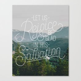 Rejoice Canvas Print