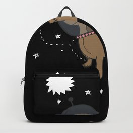 Dog Astronaut | Dachshund in Space Gift Backpack