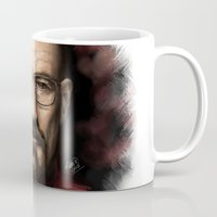 walter white Mugs featuring Walter White by NikkiBeth