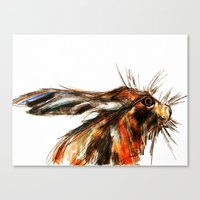 hare Canvas Prints featuring Hare by James Peart