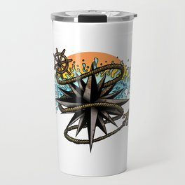 Nautical Splash Travel Mug