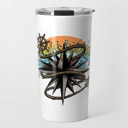 Nautical Splash Travel Mug