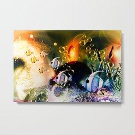 Aquaworld Metal Print