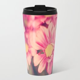Pink Retro  Travel Mug