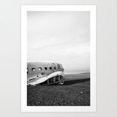 Abandoned DC-3 Fuselage Art Print