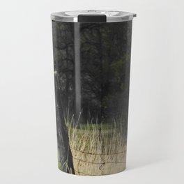 Redwing fencepost Travel Mug