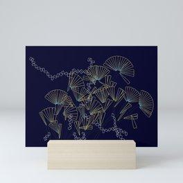 Licmophora - naive diatoms Mini Art Print