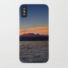 Sunset in Atacama Slim Case iPhone X