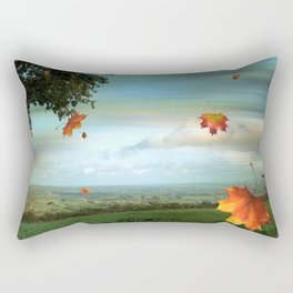 Windy Day Blagdon. Rectangular Pillow