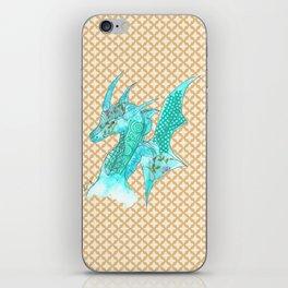 Dragon Blue iPhone Skin