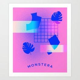 M O N S T E R A Art Print