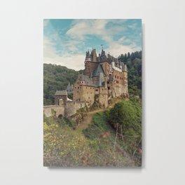Castle Eltz - Moody Landscape Film Art of Germany Metal Print