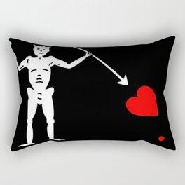 Blackbeard's Flag Rectangular Pillow